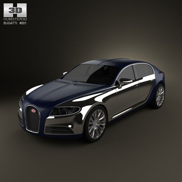 Bugatti Galibier 3d Model From Humster3d.com. Price: $75