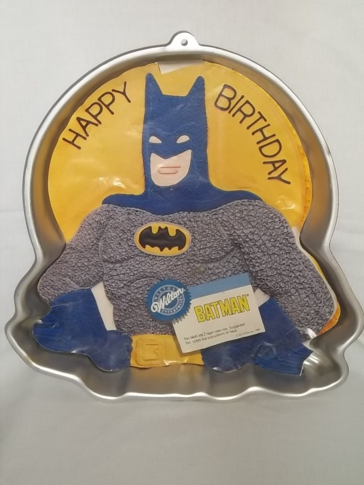 Batman Logo Cake Tin