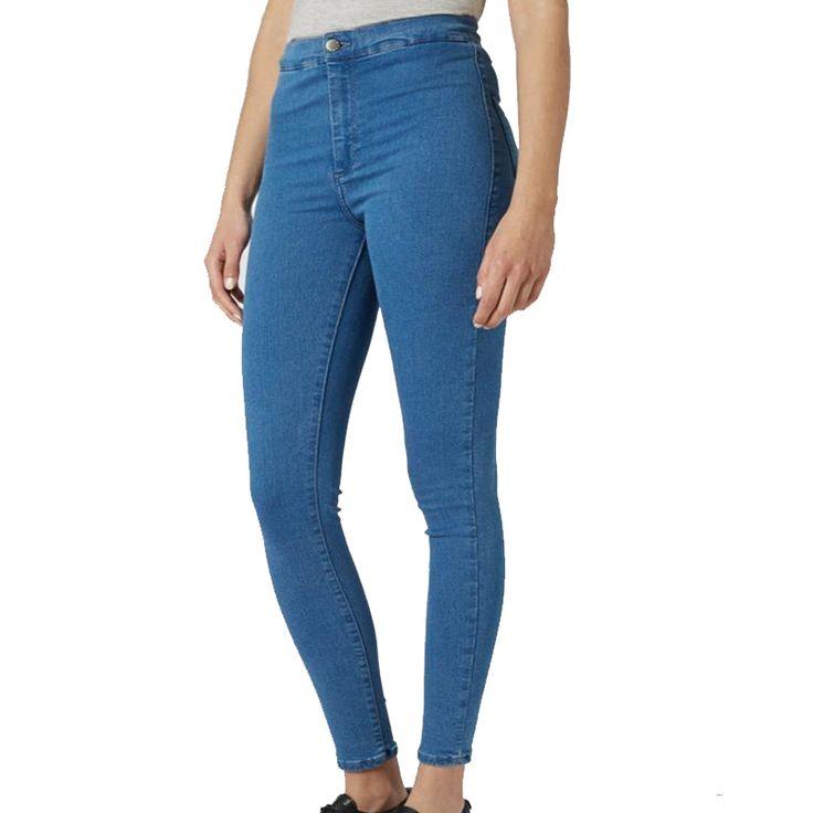 Vintage 2015 Mujeres Americanas Pantalón De Cintura Alta Jeans Femme Flaco Jeggings Stretch Pantalones Lápiz Señoras Negro Pantalones de Mezclilla de La Cadera Delgada