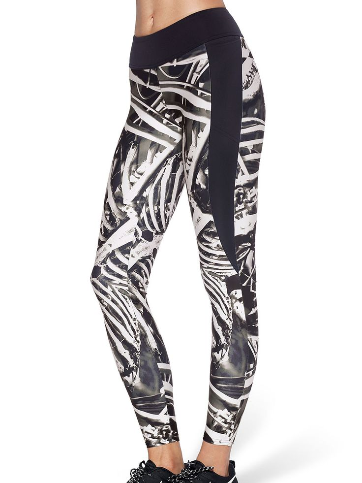 Bone Machine Ninja Pants (US ONLY $95USD) by Black Milk Clothing