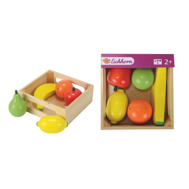 EICHHORN Trälåda med frukter pink or blue - Stort utbud ✓ Snabb leverans ✓ Prisvärt ✓ Fraktfritt från 500 kr ✓ Hos oss handlar du snabbt och enkelt!