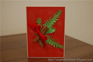 Felicitare de Crăciun MH017 / Christmas Greeting Card MH017