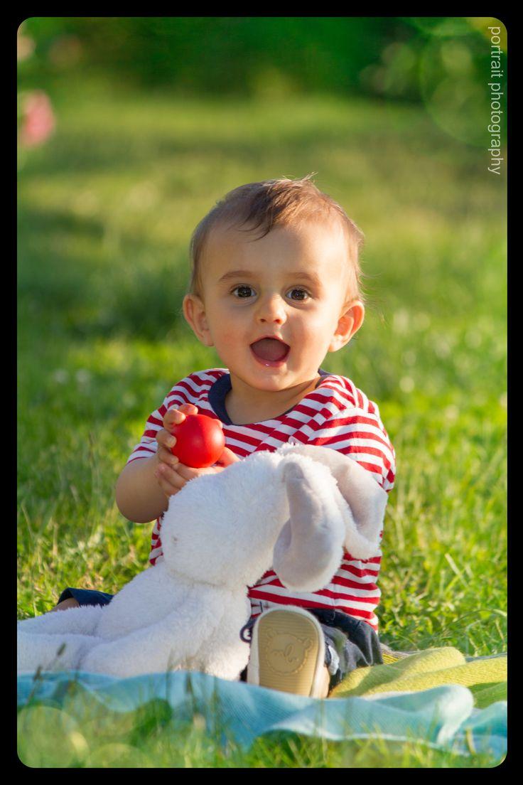 #baby #rabbit #park #sunnyday #babyphotoshooting #smile