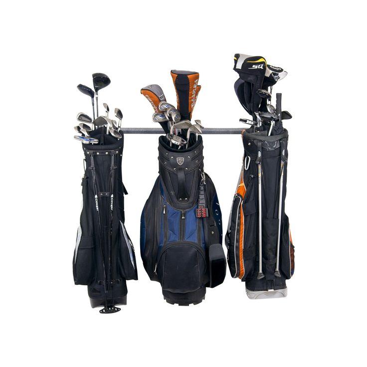 Monkey Bar Storage 3 Golf Bag Small Rack
