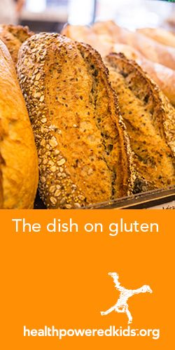 Most of us eat food with gluten with no trouble. For those with celiac disease or a gluten sensitivity it needs to be avoided. http://www.healthpoweredkids.org/lessons/the-dish-on-gluten/