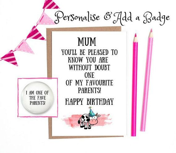 Funny Birthday Card Mum Birthday Card Funny Mom Birthday Card Mum Funny Mum Birthday Card Funny Mum Birthday Card Mum Card Funny Birthday Cards For Mum Funny Birthday Cards Birthday Cards