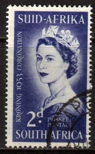 South Africa 1953 Coronation used