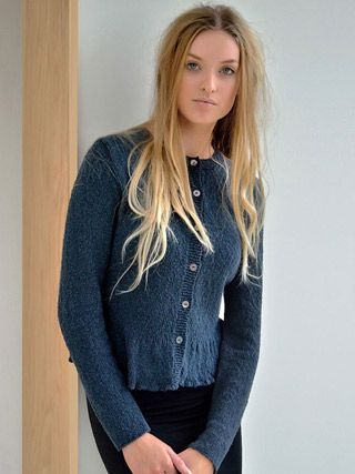 Harbour elegant cardigan from Echoes by Kim Hargreaves - TWENTY ONE DESIGNS…