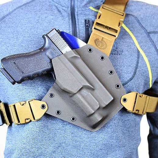 Custom Kenai Chest Holster | GunfightersINC