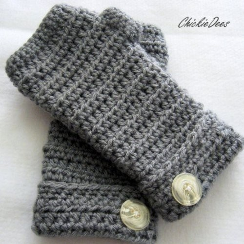 Fingerless glove from Chickie Dees by rosanne