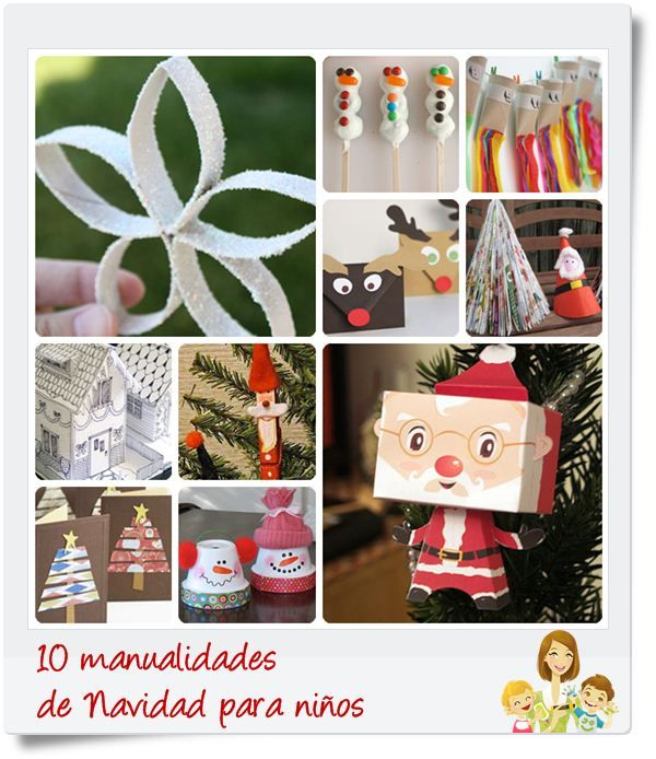 1000 images about navidad on pinterest manualidades - Manualidades de navidades para ninos ...