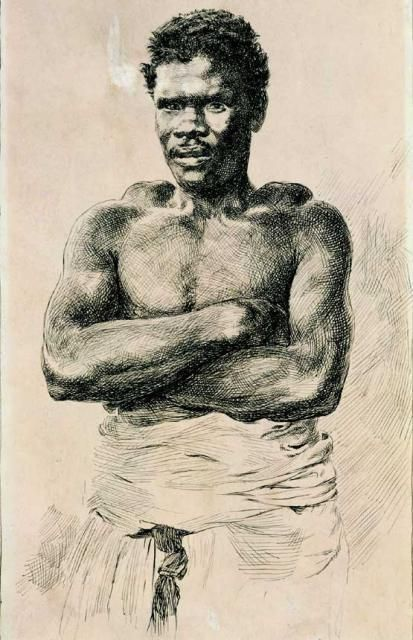 Portrait of a Slave - Unknown