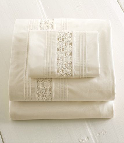 Heirloom Crocheted Sheet Set: Sheet Sets | Free Shipping at L.L.Bean
