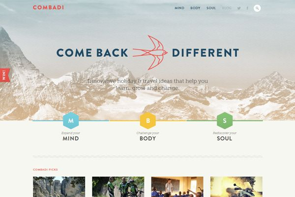 Combadi - Washed Out/ Pastel Web Inspiration