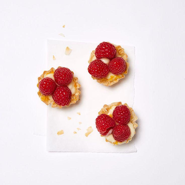 Raspberry, Orange and Cream Tartlets Recipe | Weight Watchers Canada
