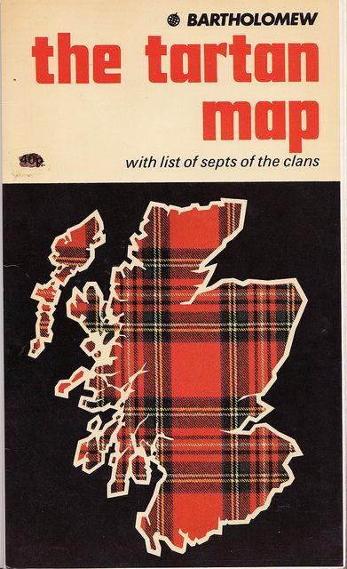 klappersacks:    The Tartan Map by Calsidyrose on Flickr.