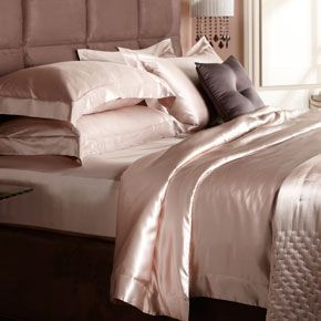 Silk Duvet Cover (Nude) Blush