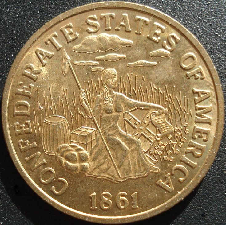 confederate states of america | Confederate States of America $20 Gold Coin | Collectors Weekly