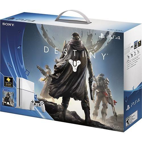 Sony - Glacier White PlayStation 4 Destiny Bundle - Glacier White - BEST BUY $449.99