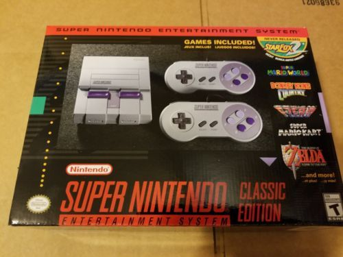 Super Nintendo Entertainment System: Super NES Classic Edition | eBay