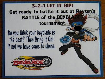 17 Best Images About Beyblade Birthday On Pinterest