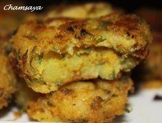 Maakoudas au thon, galettes de pommes de terre au thon