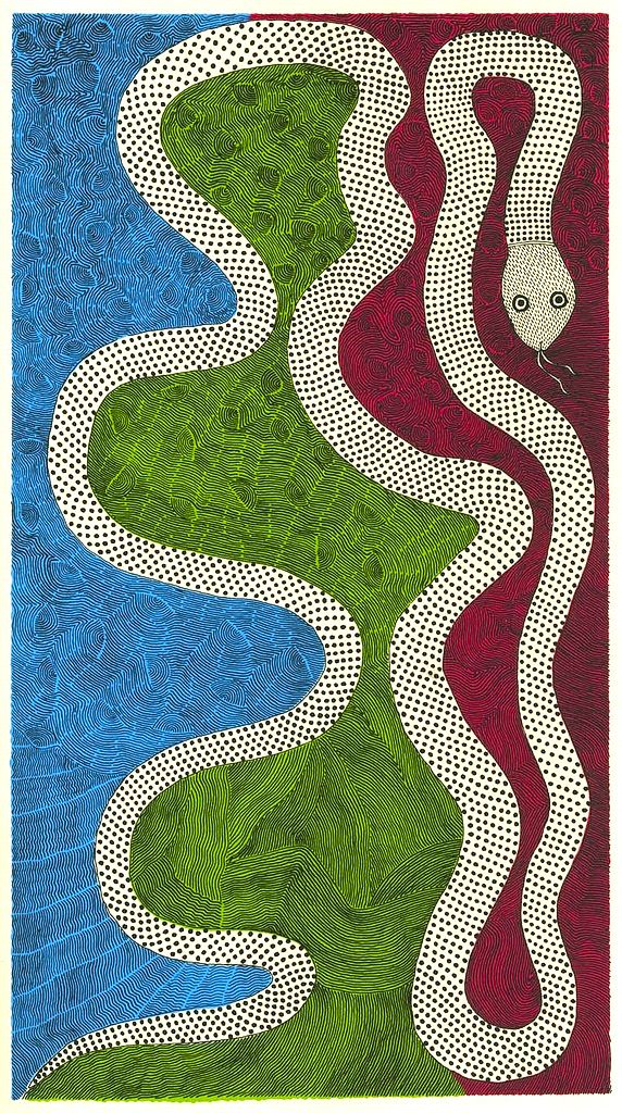 Mithila art by Rambharos Jha
