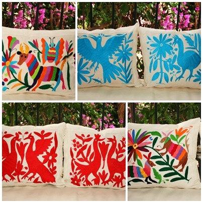 Beautiful Otomi textile
