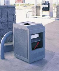 28 Best Gas Station Trash Cans Images On Pinterest Retail Cars