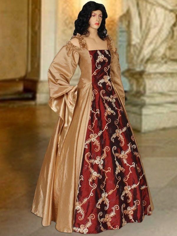Renaissance jurk 127
