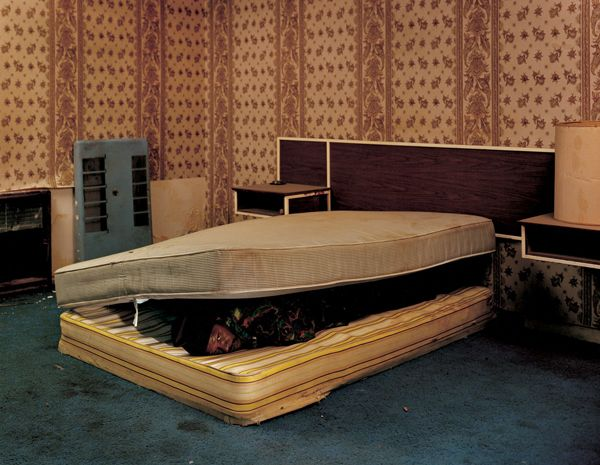 Larry Mayes Scene of arrest, The Royal Inn, Gary, Indiana Police found Mayes hiding beneath a mattress in this room Served 18.5 years of an 80-year sentence for Rape, Robbery, and Unlawful Deviate Conduct, 2002