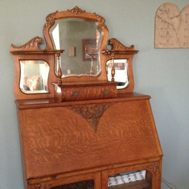 38 Best Antique Side By Side Secretary Images On Pinterest