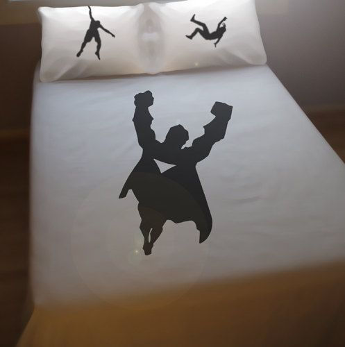 Superhero Duvet Cover Sheet Set Bedding Queen King Twin