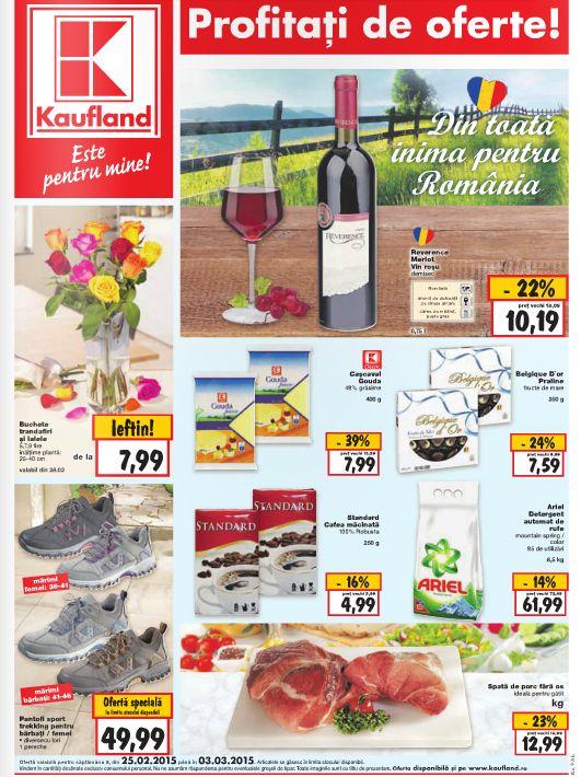 Vizualizati noul Catalog Kaufland valabil in perioada 24.02-04.03.2015