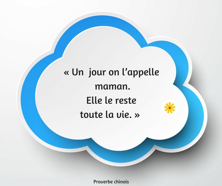 Les plus belles citations pour la Fête des Mères... #fête #mères #citations #proverbe #idée #cadeau