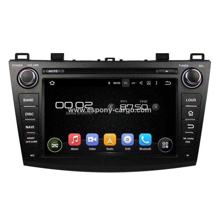 "Mazda 3 2009-2012 with 8"" Android Car Audio Player GPS Stereo Radio Navigation System"
