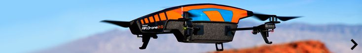 AR.Drone Parrot - First quadricopter that can be controlled by an iPhone/iPod Touch/iPad and Android