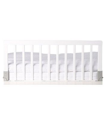 BabyDan Wooden Bedguard - White - bed guards - Mothercare