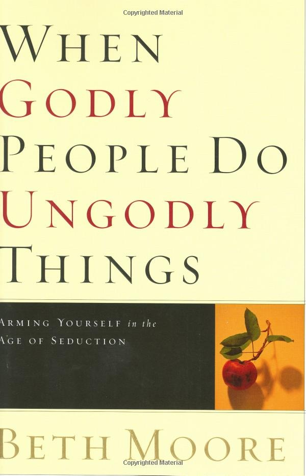 """This amazing book by Beth Moore helped me move beyond the hurt received by """"Godly"""" people...excellent."""