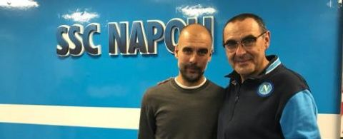 Guardiola got on Napoli team bus by mistake after the game