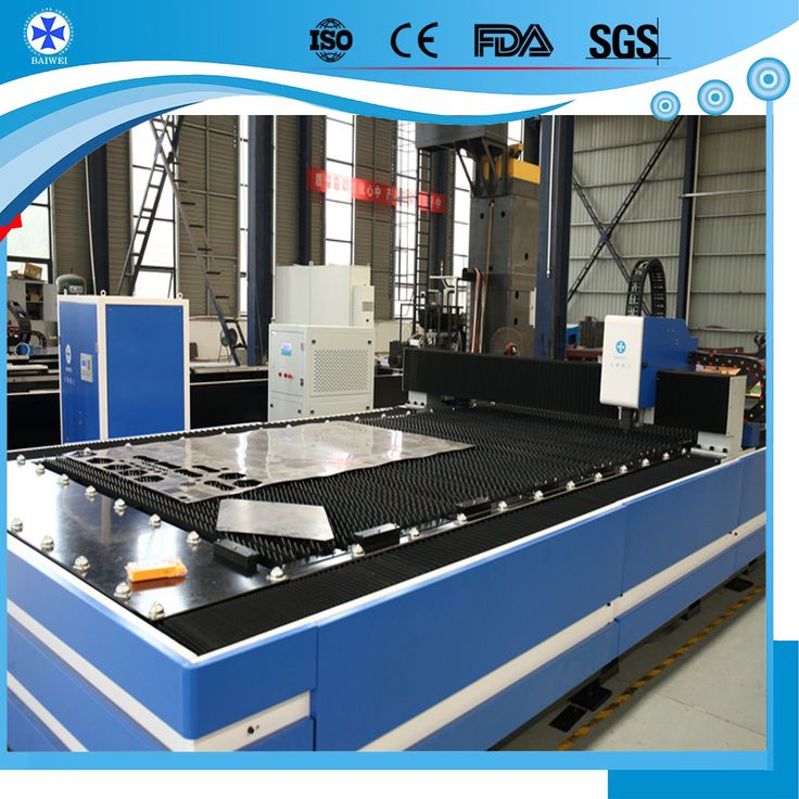 Made in China 500W 1KW 2KW 3KW CNC sheet metal fiber laser cutting machine Price from Baiwei laser