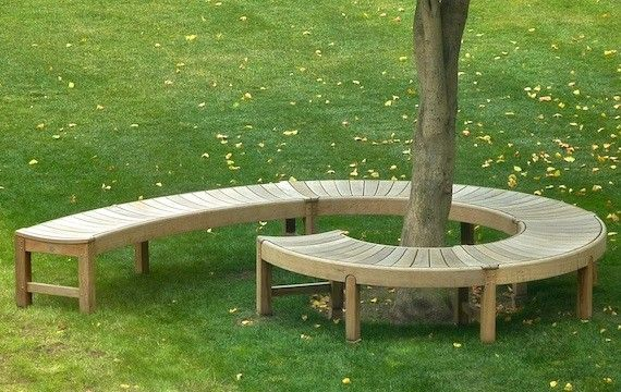 Broadwalk - Spiral and Tree Benches by Gaze Burvill