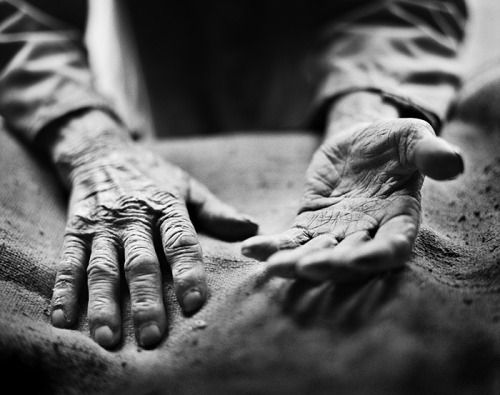 Hands that tell a story of hard work. Stephan Vanfleteren