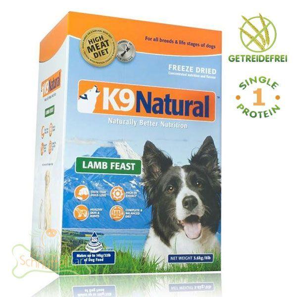 K9 Dog Natural Lamm - 3,6kg