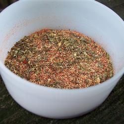 Blackened Seasoning: I use this on steak & seafood. I heat my cast iron pan on stove until SUPER hot. Coat steaks w/ oil & seasoning. Cook steak for 3-4 mins each side, put piece of butter under steak before throwing it into pan.
