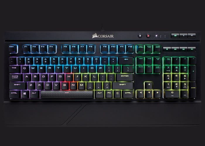 Corsair K68 Rgb Water Resistant Mechanical Gaming Keyboard Expanding Their Range Of Water Resistant Mechanical Keyboards Even Keyboard Geeky Gadgets Mechanic