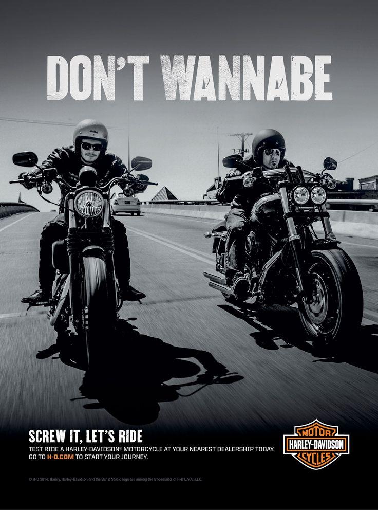 Harley Davidson Advertising: 152 Best Images About Harley Images On Pinterest