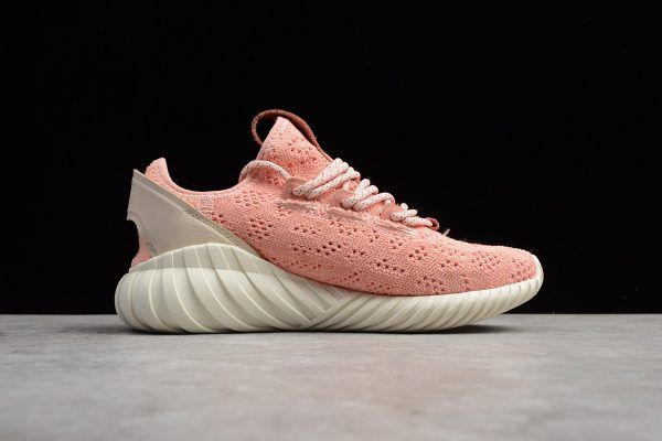 Adidas Tubular Doom Sock Primeknit Pink Pink Running Shoes