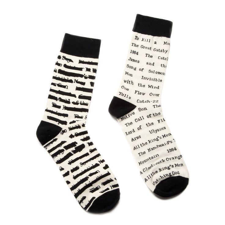 BANNED BOOK SOCKS | socks, book lovers, reading | UncommonGoods
