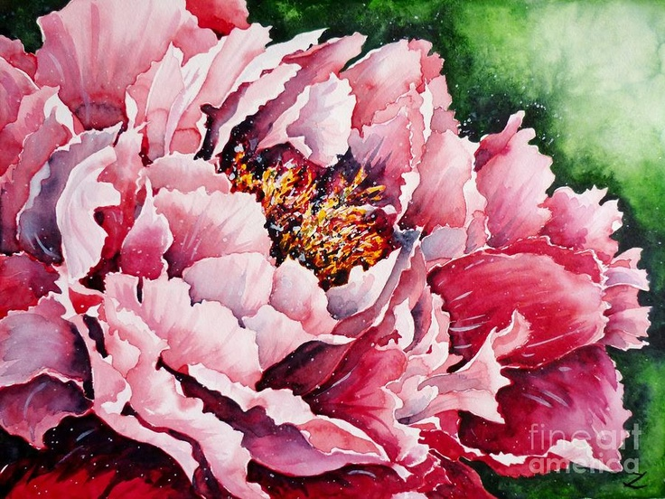 +1000 imagens sobre Pintura em tela de Flores no Pinterest ...